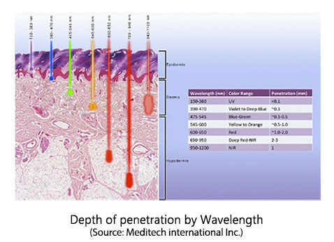 Laser Penetration Depth